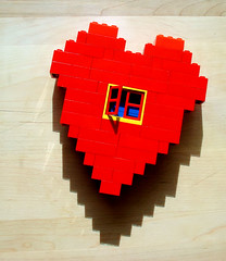 Adjusted Lego Heart