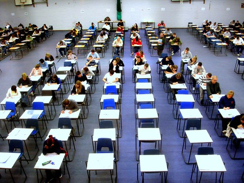 Day 23 - Exam hall (photo by Jack Hynes)