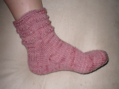 Pink Cowgirl Sock
