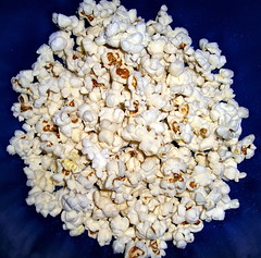 Home-popped popcorn