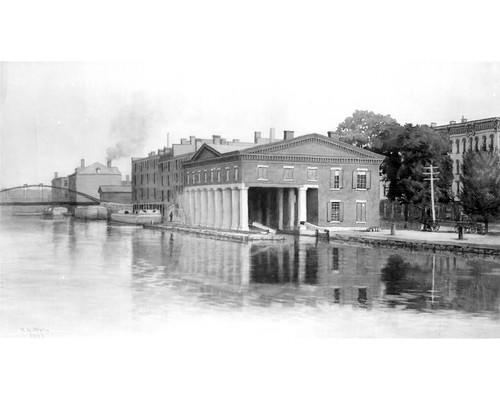 551 - Trans - Erie Canal - Syracuse - Weighlock #4 - 300dpi
