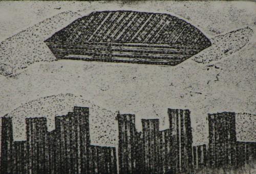 UFO, print