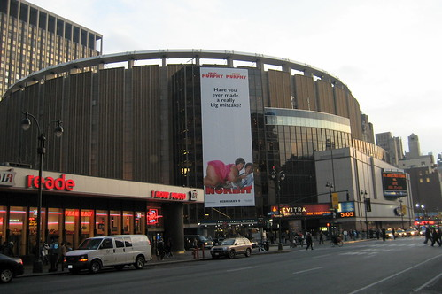 Take a NYC limo to Madison Square Garden
