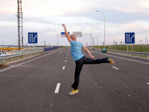 otro tolai en la autopista