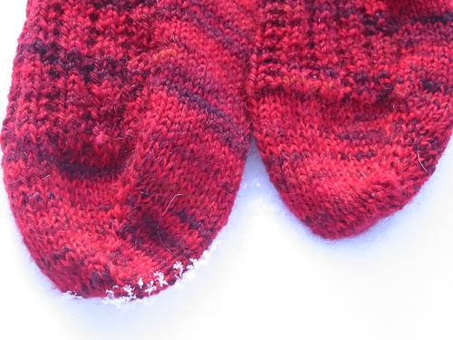 The Beast sock toes