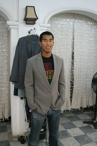 Will trying on a jacket