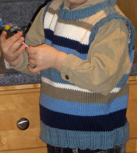 Child's Sweater Vest
