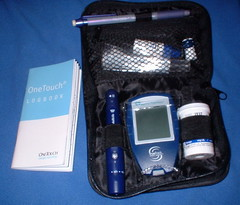 diabetes, blood sugar testing kit