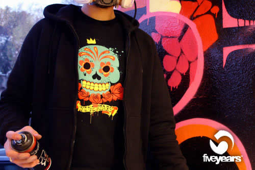 T-Shirt by Five Years Clothing