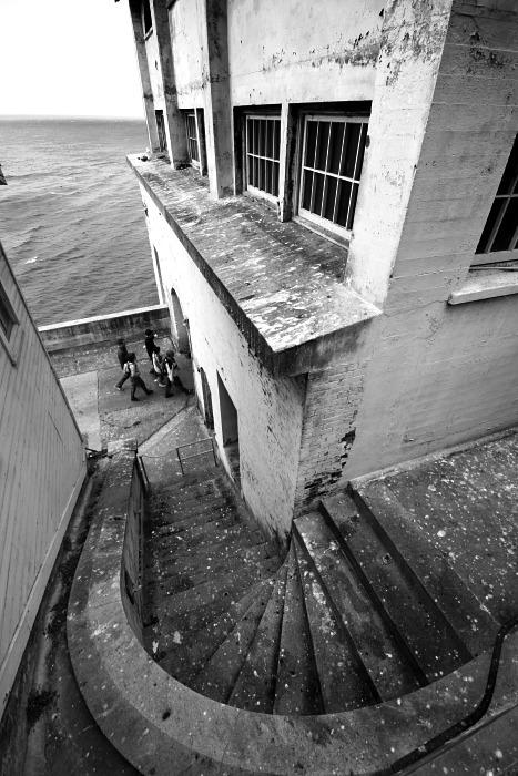 Alcatraz Staircase