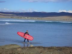 Baja surfing - Larry