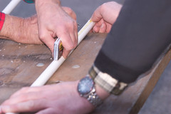 """CRW_6931: Measuring the PVC for the Boom • <a style=""""font-size:0.8em;"""" href=""""http://www.flickr.com/photos/54494252@N00/14312159/"""" target=""""_blank"""">View on Flickr</a>"""