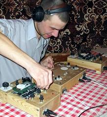 Cassette tape DJ