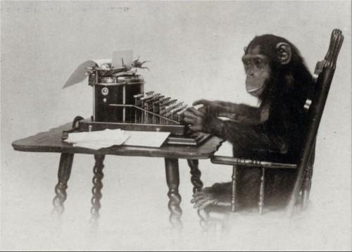 An infinite number of monkeys...