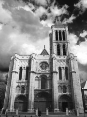 Saint-Denis (Noir et blanc)