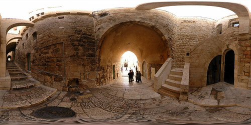 Jewish Quarter - Jerusalem, Old City - 360°