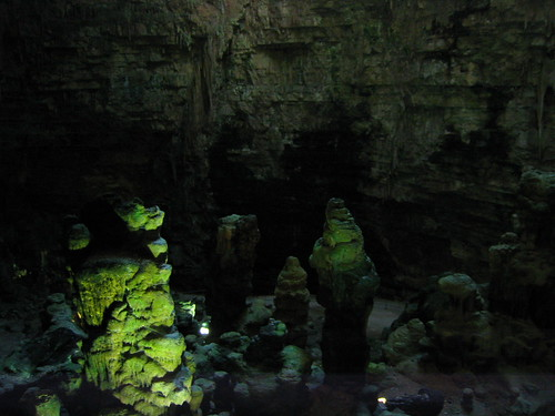 Interior of the Large Cavern