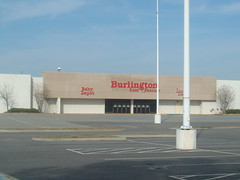 Burlington Coat Factory (former Korvette's and Wards)