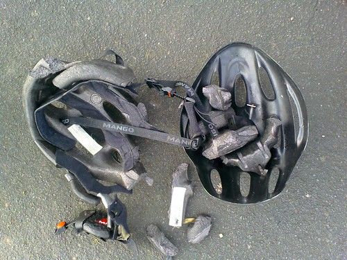 Why you should wear a helmet!