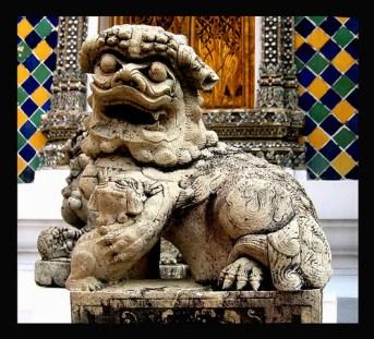 At the Golden Palace in Bangkok,Thailand