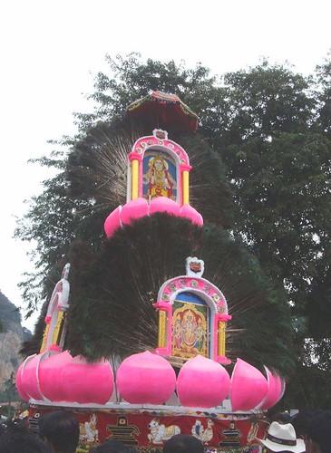 Lotus-themed Kavadi