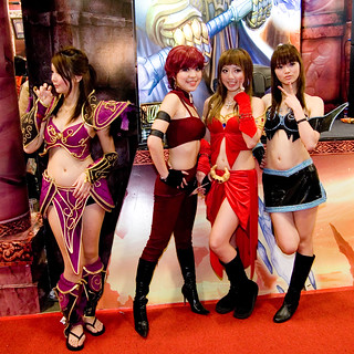 World of Warcraft Cosplay Girls