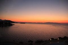 Aegean sea beach of kusadasi