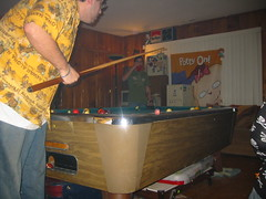 20070113 - Clint's 33rd Birthday party - 109-0944_Nathan & Chuck - wack-a-mole illusion
