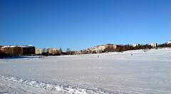 Vinter i Stockholm, Gärdet