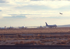 A Plane Taking Off - Edwards Air Force Base