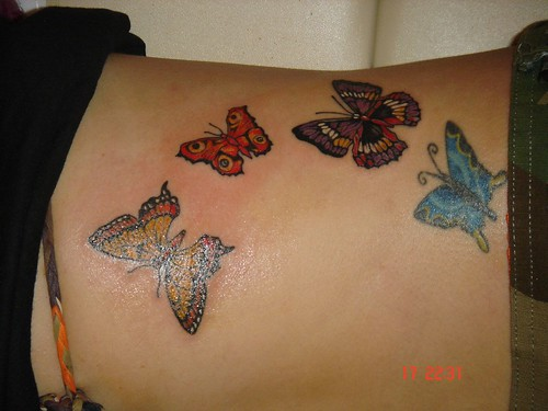 A few nice butterflies tattoo images I found: