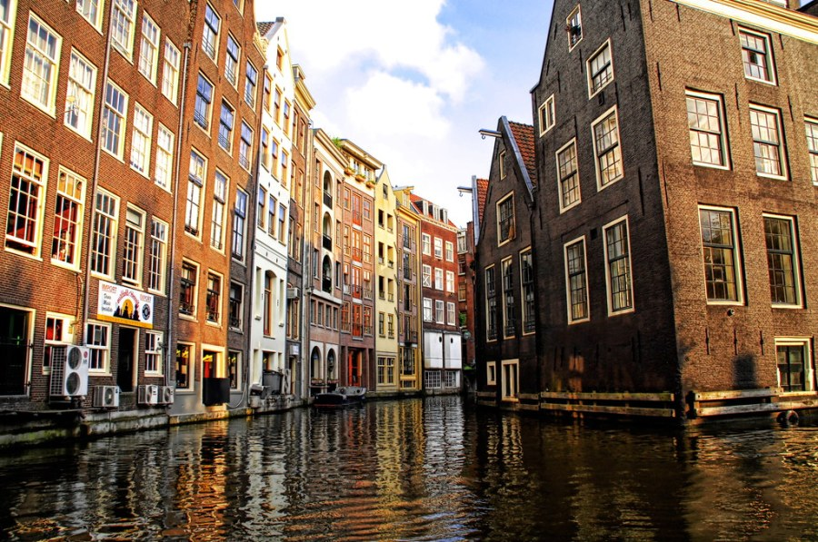Venetian Canals in Amsterdam