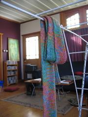 soy  silk scarf