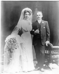 Frank and Ethel wedding