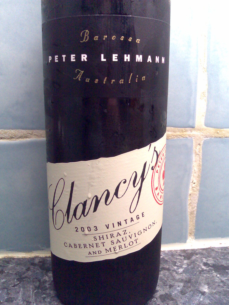 Peter Lehman Barossa Clancy's 2003 Shiraz, Cabernet Sauvignon and Merlot