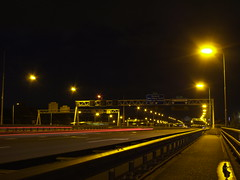 Highway by night.