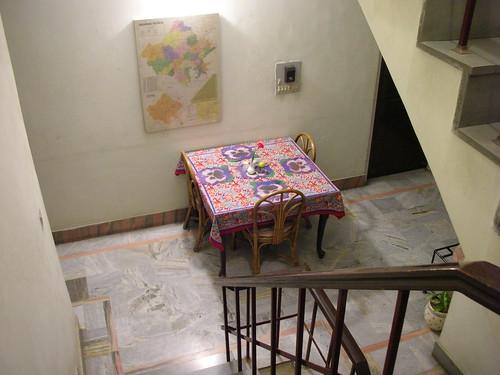 First Floor Landing Sit Out,Karan's Guest House,Jaipur,Rajasthan