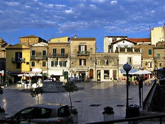 Piazza Barcani a Vasto!