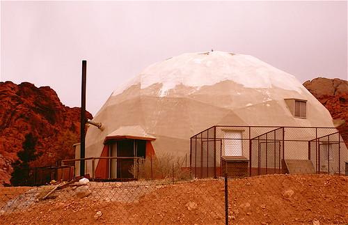 Strange House in Calico Basin