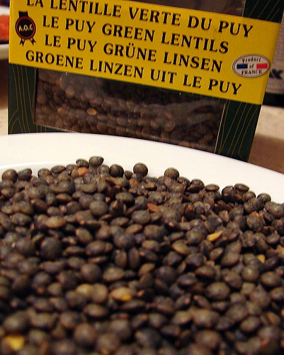 verte du puy lentils