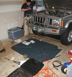 img 8444 cshontz tags chris home timelapse jeep garage cherokee install winch arb [ 1024 x 768 Pixel ]