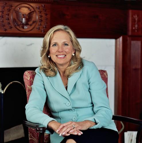 Jill Biden, wife of Senator Joe Biden by JoeBiden.