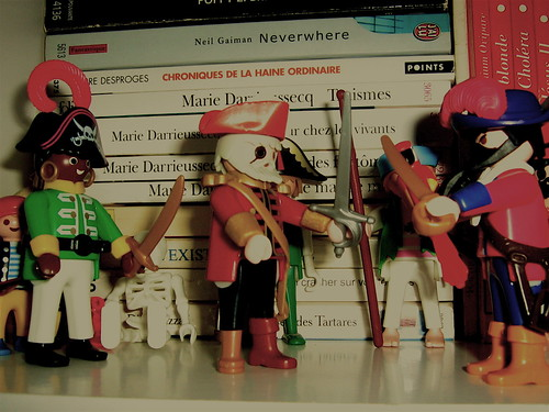 Pirates in my library. Par TOF2006. CC-BY-NC. Source : FlickR
