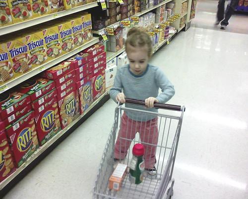 Shopper Grows Up a Bit