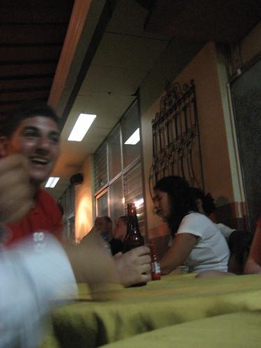 dinner back in managua