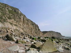 East Hill cliffs.