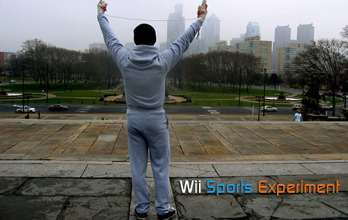 Picture from WiiNintendo showing the guy who lost wieght using Wii