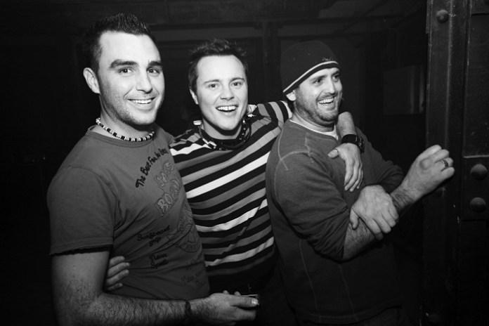 Three Gatecrashing Guys