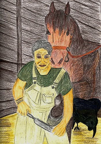 Stable Woman