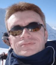 Skiing. I am SO cool - just look at those shades.